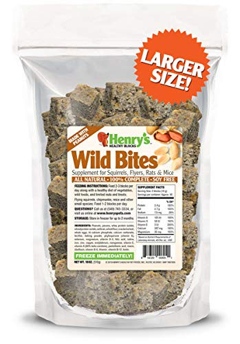 Henry's Wild Bites - The Only Food for...