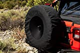RAMPAGE PRODUCTS 773575 Spare Cover with Camera Slot for 2018 Jeep Wrangler Jl On 37' Tires, Black