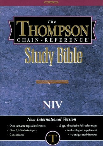 Thompson Chain Reference Bible New International Version (Order #833)