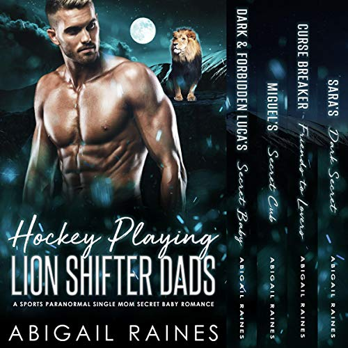 Hockey Playing Lion Shifter Dads Titelbild