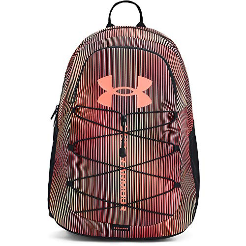 Under Armour Adult Hustle Sport Backpack , Black (004)/Brilliance , One Size Fits All