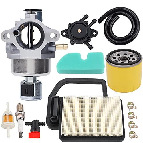 Hipa 20 853 16-S 33-S 14-S Carburetor for Kohler SV470 SV471 SV480 SV530 SV540 SV541 SV590 SV591 SV600 SV601 SV610 SV620 Engine Lawn Mower 20 083 02-S Air Filter 52 050 02-S Oil Filter Tune Up Kit