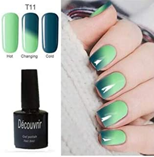CoCocina Decouvrir Temperature Change Nail Uv Gel Color Changing Polish Gradient Thermal Chameleon Cute - 11