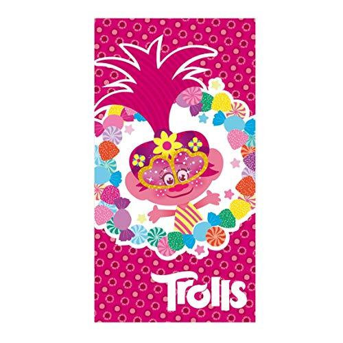 Asditex Toalla Trolls 4 (100% algodón)