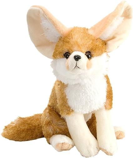 Silver Fox Stuffed Animal, Amazon Com Wild Republic Fennec Fox Plush Stuffed Animal Plush Toy Gifts For Kids Cuddlekins 12 Inches Toys Games
