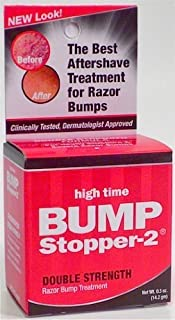 High Time Bump Stopper-2 0.5 Ounce Double Strength Treatment (14ml) (2 Pack)