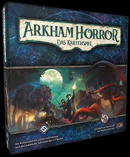 Asmodee Arkham Horror: LCG, Grundspiel, Kartenspiel, Deckbau, Deutsch