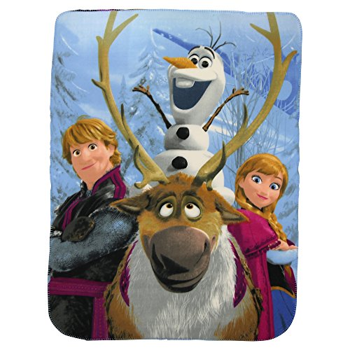 "Kids Fleece Throw Blankets 46"" x 60"" Several Options (Frozen)"