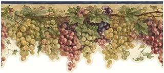 wine border wallpaper