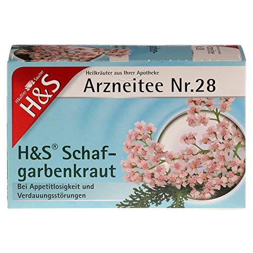 H&S Schafgarbentee Filterbeutel 20X1.7 g