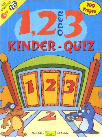 1, 2 oder 3 Kinder - Quiz, Der TV-Renner für schlaue Kids mit 200 Fragen und Hintergrund-Informationen