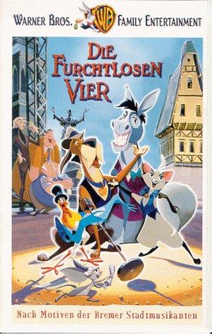 Die Furchtlosen Vier [VHS]