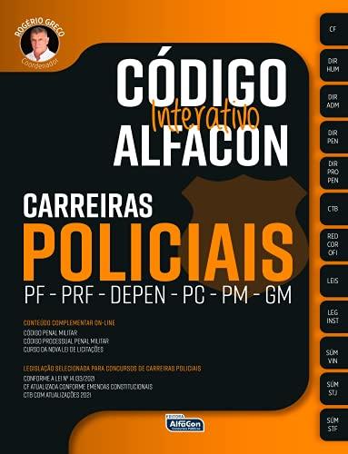 Código interativo Alfacon - Carreiras policiais