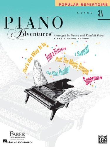 Level 3A - Popular Repertoire Book: Piano Adventures