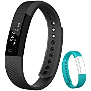 Flenco Fitness Tracker Activity Tracker Health Monitor Smart Bracelet Exercise Sport Watch Pedometer Wristband Sleep Monitor Calorie Step Counter For Kids Women Ladies Girls Boys Children Men