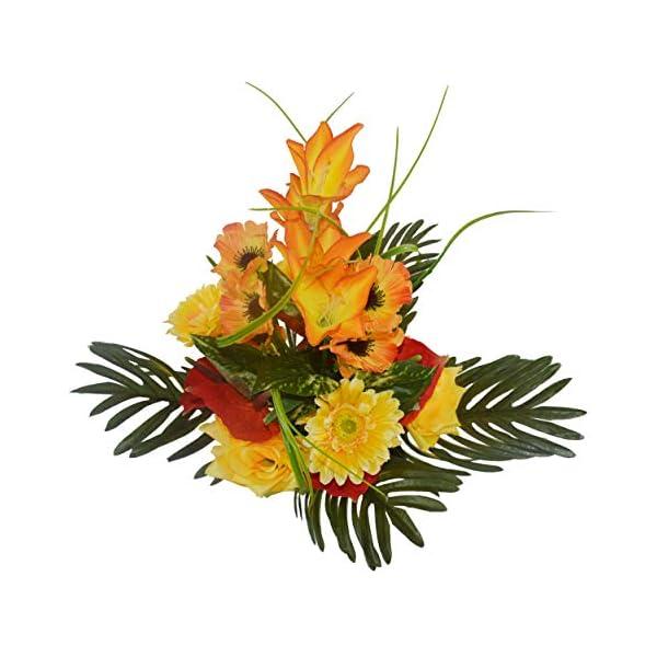 Herran Exquisito Ramo Artificial, Ramo De Crisantemos Rosados, Lily Calla Lily Bouquet, Hecho por El Hombre…