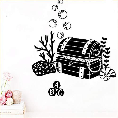 wukongsun Colección de Dibujos Animados Pegatinas de Pared PVC habitación Infantil Papel Tapiz de Arte decoración del hogar decoración de la Pared Mural Negro XL 57cm X 76cm