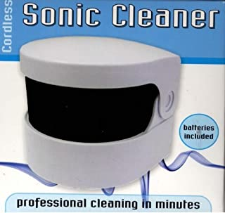 Sonic Denture Cleaner (883) Clean dentures without soaking