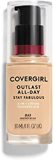COVERGIRL Outlast All-Day Stay Fabulous 3-in-1 Foundation Medium Beige,
