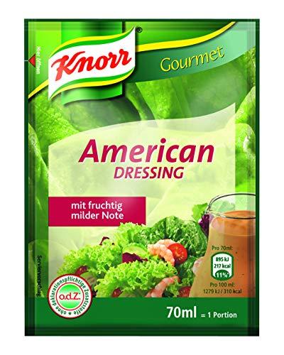 Knorr American Dressing Portionsbeutel (mit fruchtig milder Note) 20er Pack (20 x 70ml)