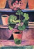 Francés Enrique Matisse geranio pintura famosa Mural imagen modular impresiones y carteles cantidad sin marco pintura en lienzo E 30x40cm