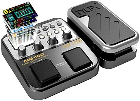 MG 100 Professional Multi Effects Pedal Processor Musical Instrument Parts 40s Record 55 Effect product image