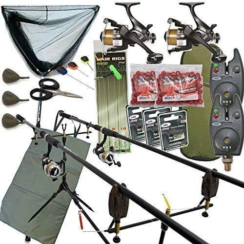 Kit complet pour pêche à la carpe