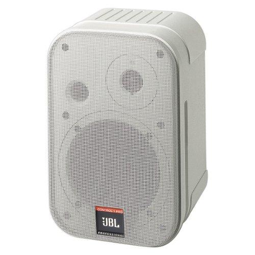 JBL Control 1 Pro Nahfeldmonitor mit Halter weiß, 1 Stück