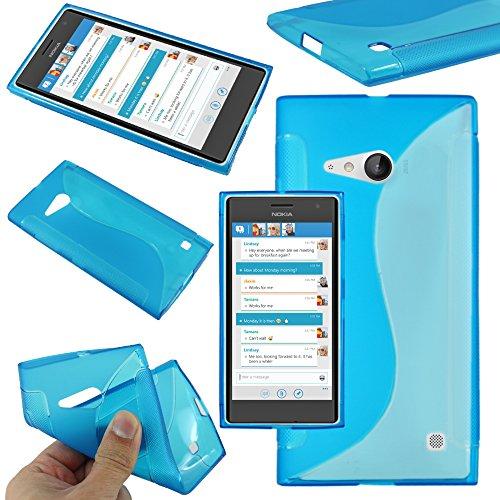 ebestStar - Funda Compatible con Nokia Lumia 735 730 Dual Carcasa Gel...