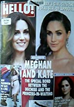 Hello Magazine 30 October 2017: Megan and Kate