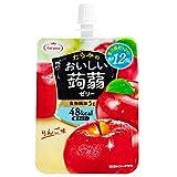 たらみ おいしい蒟蒻ゼリー りんご味 150g×6個