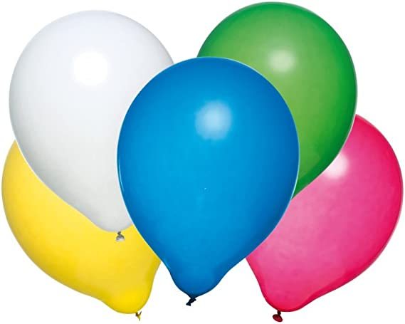 Details about  /Balloon Pump Plastic Assorted colours