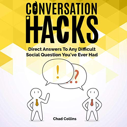 Conversation Hacks audiobook cover art