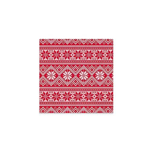 Servilletas de papel decoradas con diseño navideño ideal para las cenas de lujo de navidad, fiesta de fin de año...