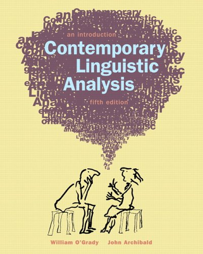 Contemporary Linguistics Analysis