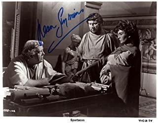 Jean Simmons Autographed Signed Spartacus Photo AFTAL