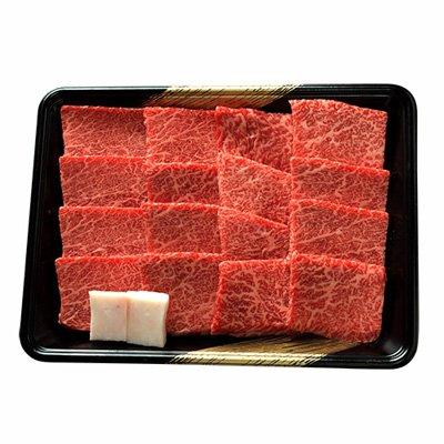 前沢牛焼肉用 有限会社前沢牛オガタ 岩手県 最上級「前沢牛」の証である鮮やかな霜降りならではの食感を味わえる贅沢な一品。