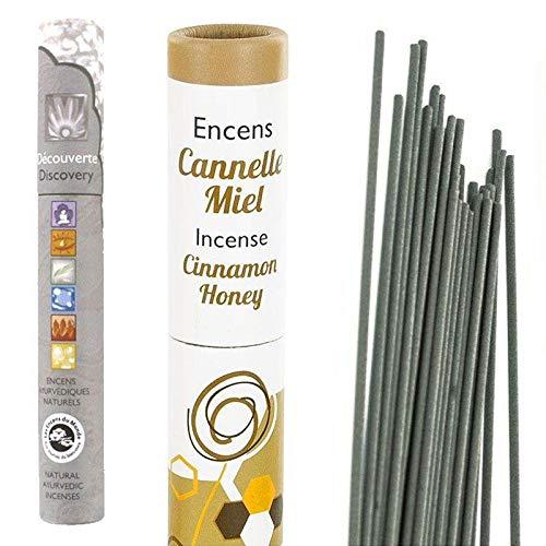 Les Encens du Monde Incenso Miele-Cannella-Finocchio + incenso Naturale ayurvedico