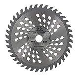 Lame de scie circulaire de qualité supérieure (Skill Saw) 185 mm pour coupe de bois circulaire 185 mm x 20 mm x 40 dents