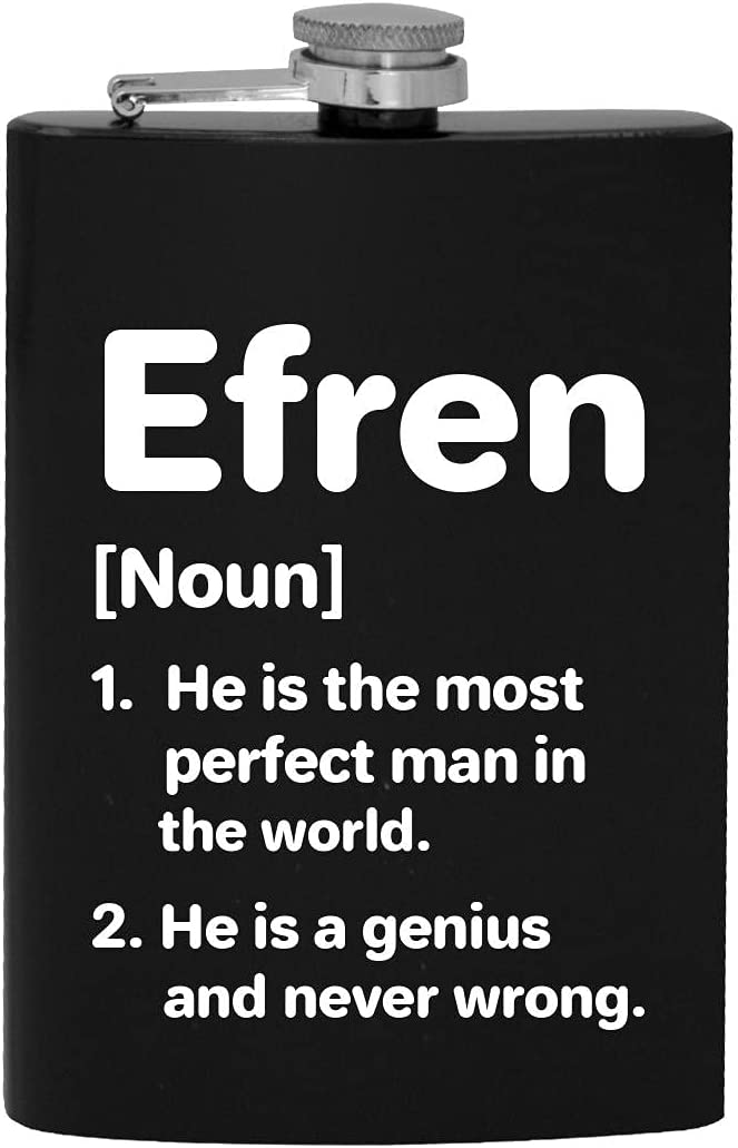 Efren Definition The Most Perfect Man Import Alcohol Hip - Ranking TOP1 Drinking 8oz