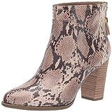 Anne Klein Women's Niccie Heeled Boot Ankle, Smoke Multi, 10 M US