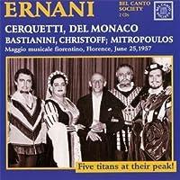 Verdi: Ernani by Cerquetti/Del Monaco/Christo (2000-08-22)