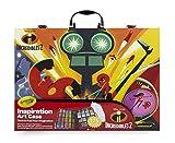 Crayola–Disney Los Increibles 2Maletín del artista para colorear y Dibujo, para juegos y regalo, color surtidos, 120piezas Art & Craft, 04–3315