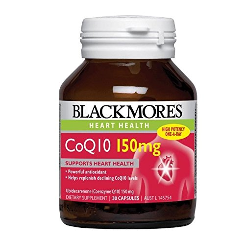 Blackmores CoQ10 150mg High Potency 30 Capsules Made in Australia, with one Knot Gift