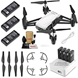 Tello Drone Quadcopter Elite Combo with 3 Batteries, 4 Port ...