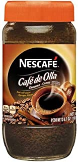 Nescafe Instant Cafe De Olla Coffee, 6.7 Ounce -- 6 per case.