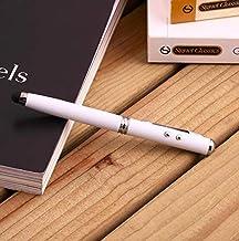 قلم 4 في 1 قلم تاتش و كشاف و ليزر بسيط مع امكانية استخدامة للكتابة