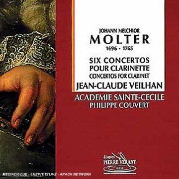 Molter: 6 Konzerte für Hohe D-Klarinette