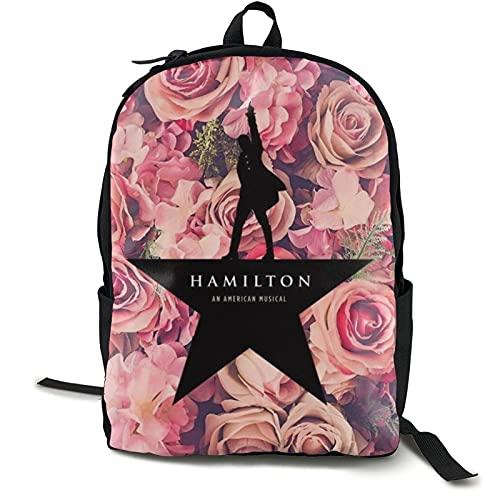 Mochila casual ultraligera para hombres y mujeres, la mochila Hamilton resistente al agua para la escuela, senderismo, camping, viajes, actividades al aire libre