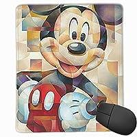 マウスパッド ミッキーマウス 防水 洗える 耐久性 滑り止め オフィス 高級感 おしゃれ かわいい 18x 22x 0.3cm
